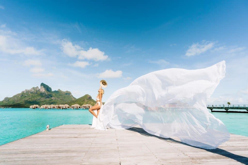 White Convertible Dress